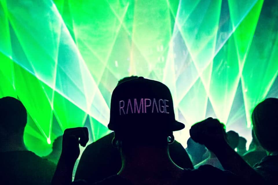 Rampage Open Air Light Show
