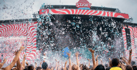 Sziget stage