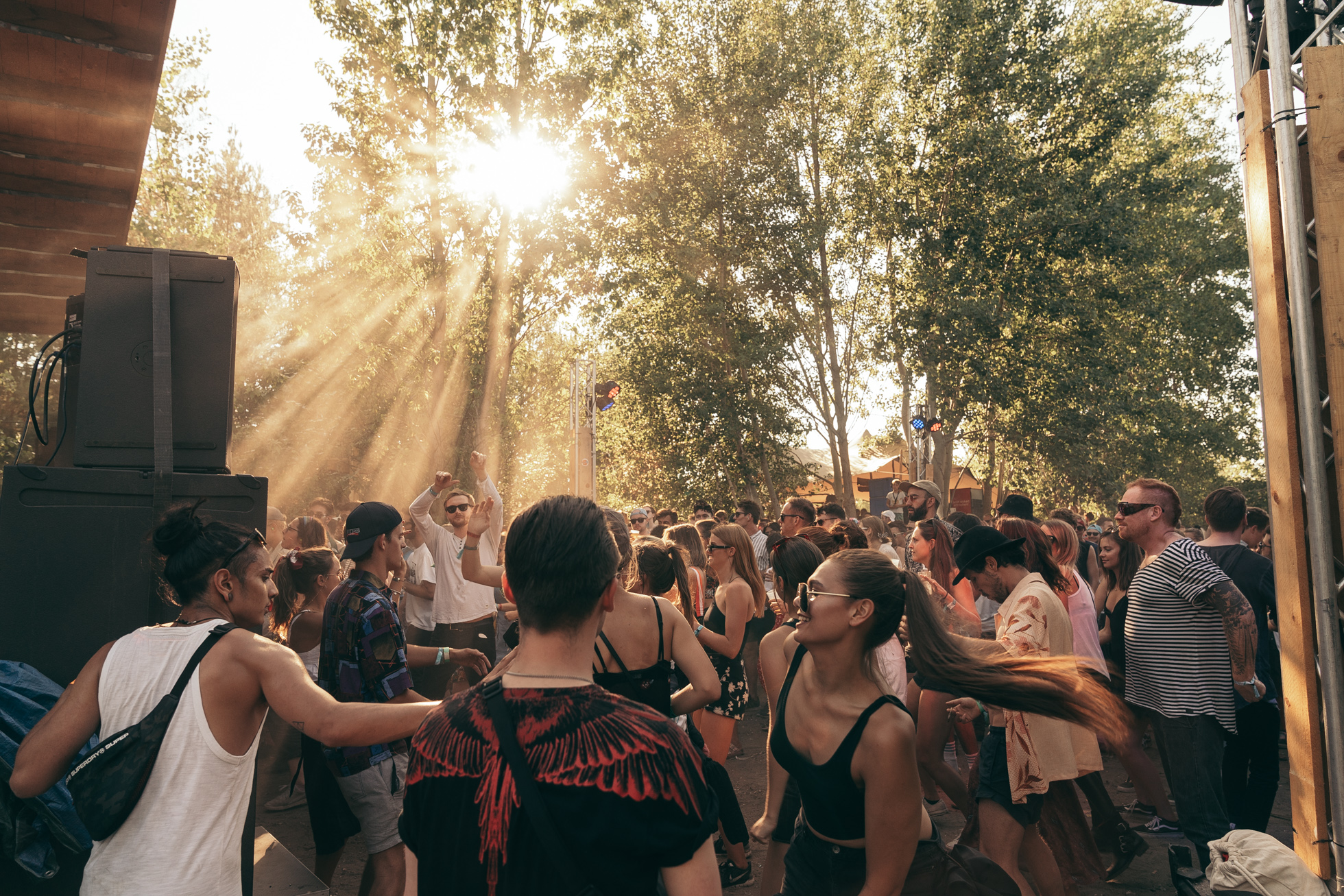 Tips for Melt Festival: stage in de bossen