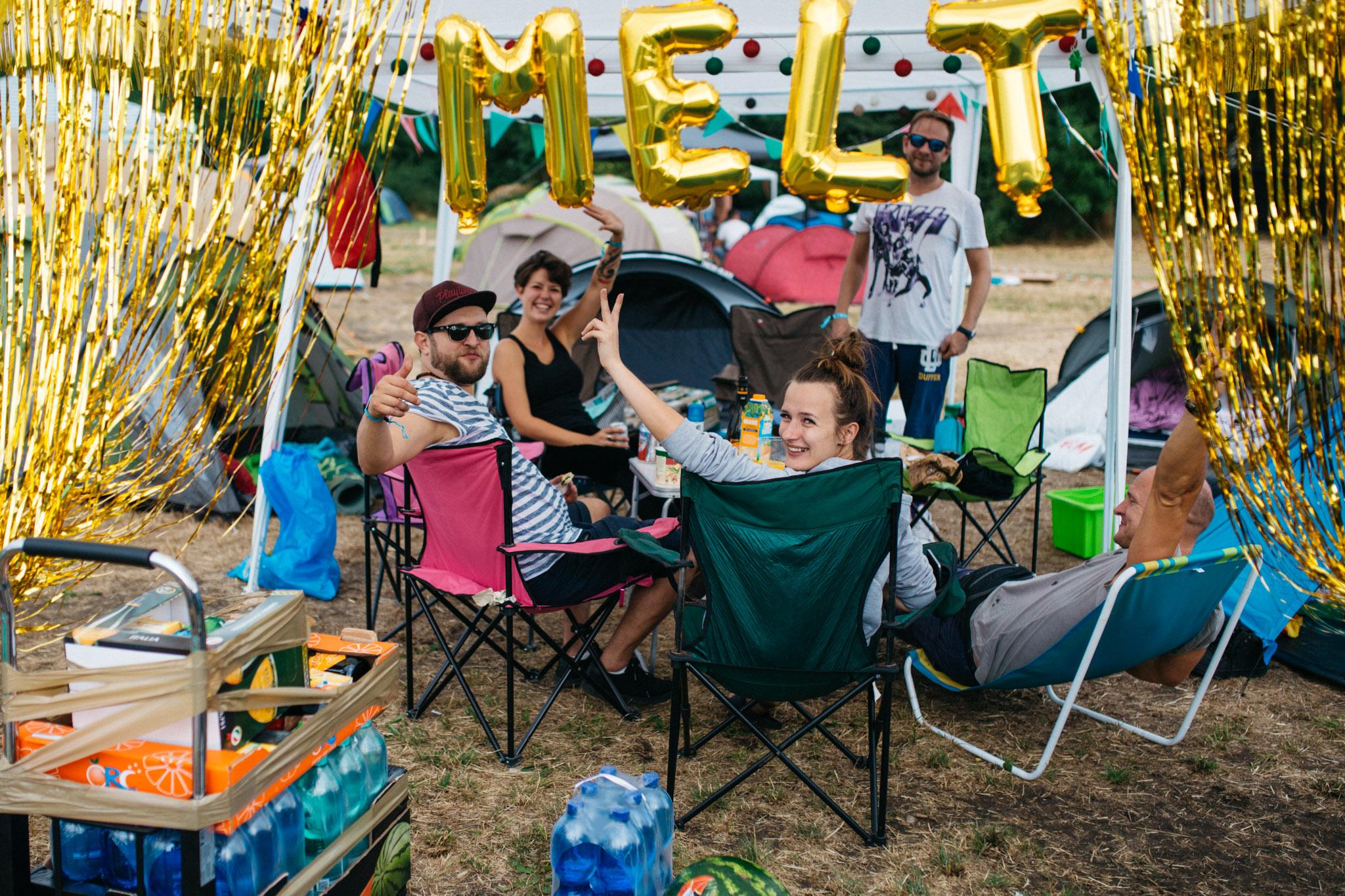 Tips for Melt Festival: Camping