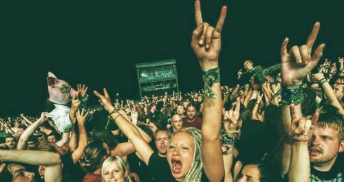 Metaldays Festival audience