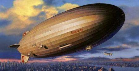 Vervoer met Zeppelin