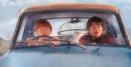 Op pad met Harry en Ronnie