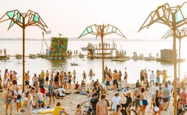 Pangea festival area
